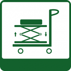 Sciccor trolleys